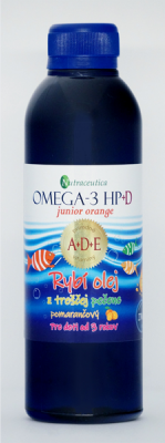 Omega-3 HP+D junior pomaranč 270ml Nutraceutica