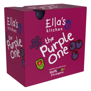 Ovocné pyré – purple one (5x90g) Ella´s Kitchen