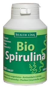 Spirulina 500mg BIO 300 tabliet Health Link