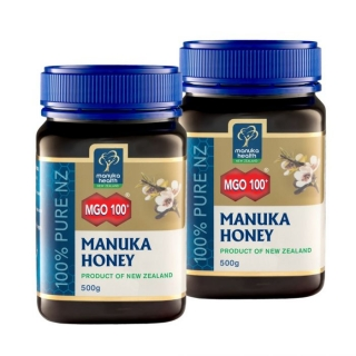 2 x 500g Manuka med MGO™ 100+ Manuka Health New Zealand