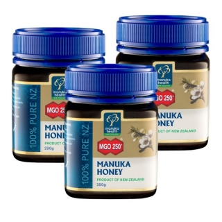 3 x 250g Manuka med MGO™ 250+ Manuka Health New Zealand