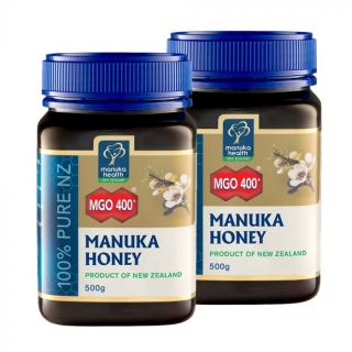 2 x 500g Manuka med MGO™ 400+ Manuka Health New Zealand