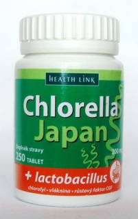 Chlorella Japan + lactobacillus BIO 250 tabliet